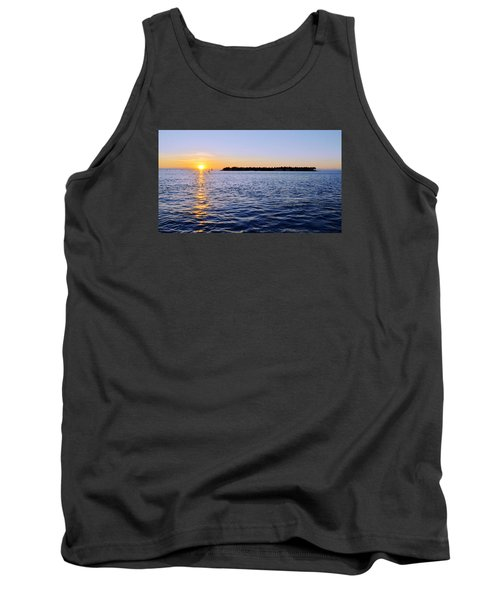 Tank Top featuring the photograph Key Glow by Chad Dutson