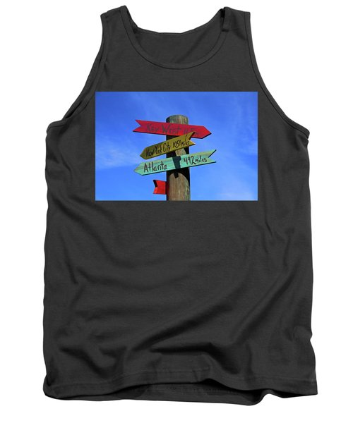Key West 165 Miles Tank Top