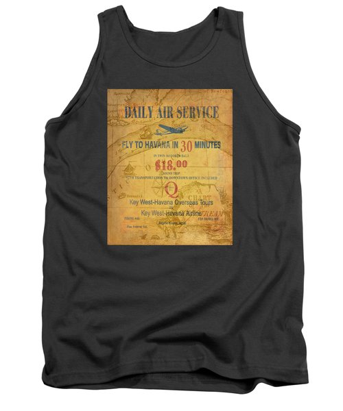 Key West To Havana Tank Top