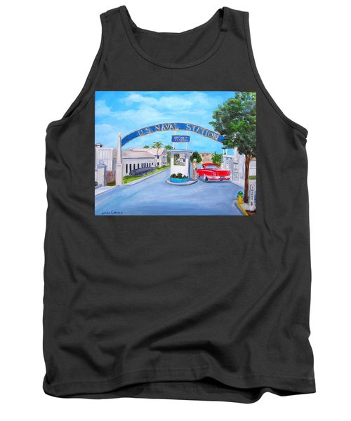 Key West U.s. Naval Station Tank Top
