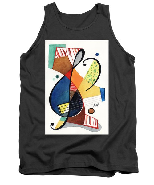 Keys And Clef Tank Top