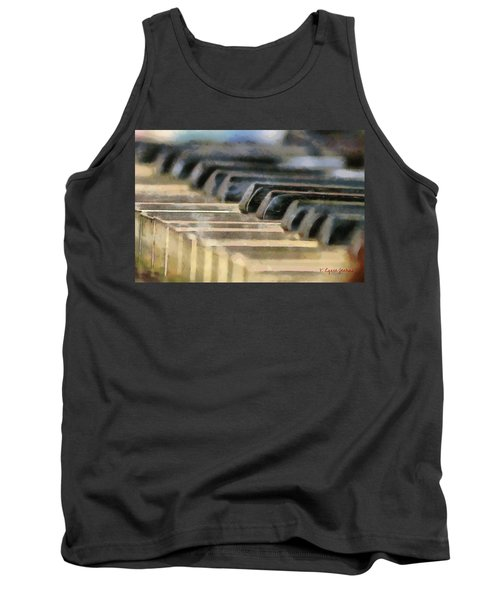 Keys To My Heart Tank Top by Lynne Jenkins