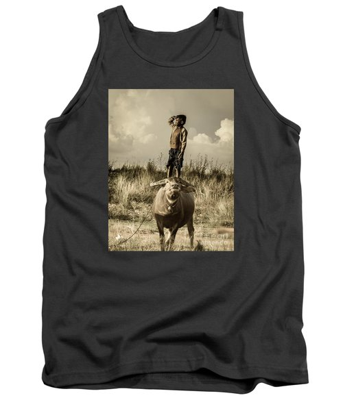 Kid And Cow Tank Top