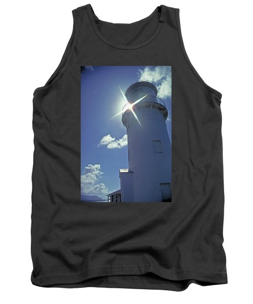 Tank Top featuring the photograph Kilauea Lighthouse by Marie Hicks