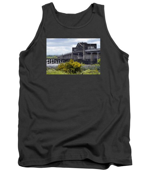 Tank Top featuring the photograph Kincardine Bridge by Jeremy Lavender Photography