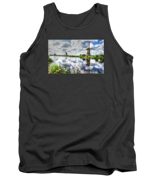 Tank Top featuring the photograph Kinderdijk by Uri Baruch