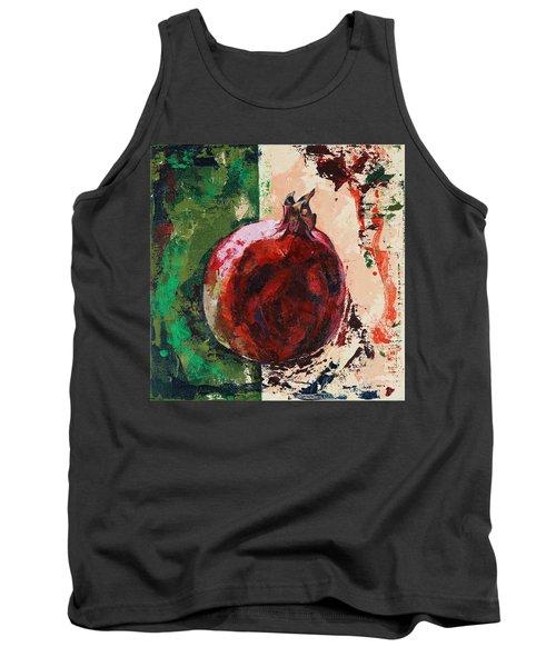 Pomegranate Tank Top