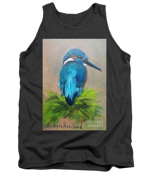 Kingfisher Bird Tank Top