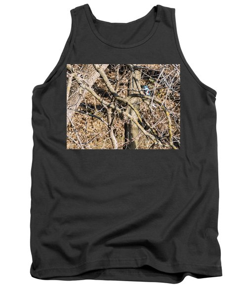Kingfisher Hunting Tank Top by Edward Peterson
