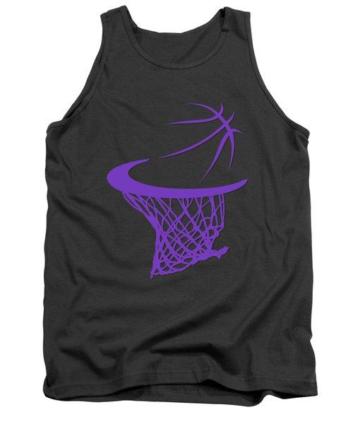Kings Basketball Hoop Tank Top