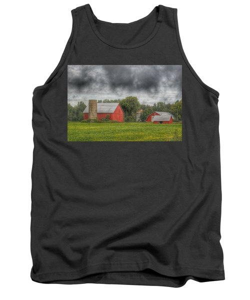 0022 - Kingston Road Red Trio I Tank Top