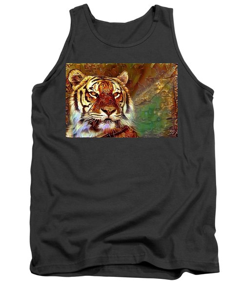 Tank Top featuring the photograph  Kisa  by Geri Glavis