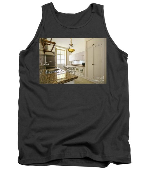 Tank Top featuring the photograph Kitchen Apartment In The Heart Of Cadiz by Pablo Avanzini