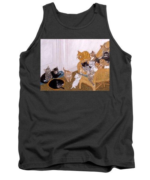 Kitty Litter II Tank Top