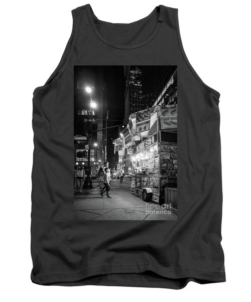 Knish, New York City  -17831-17832-bw Tank Top
