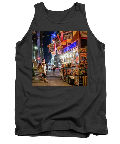 Knish, New York City  -17831-17832-sq Tank Top by John Bald
