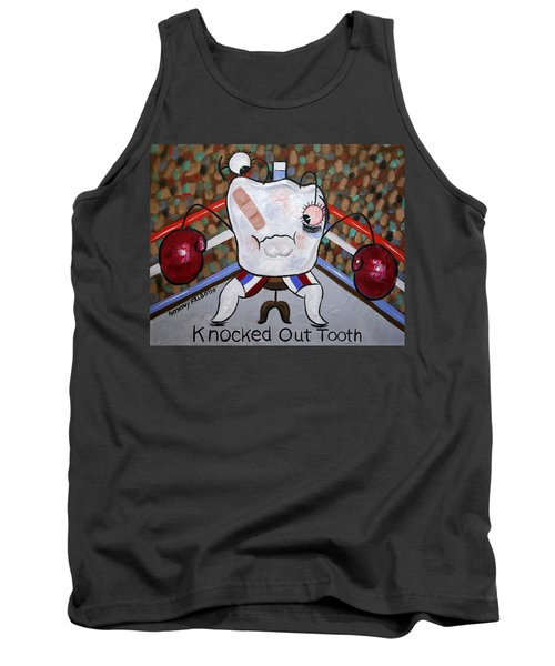 Knocked Out Tooth Tank Top