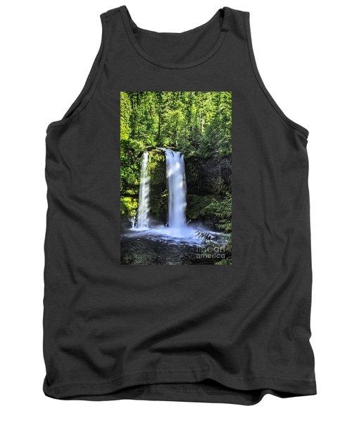 Koosa Falls,oregon Tank Top by Nancy Marie Ricketts