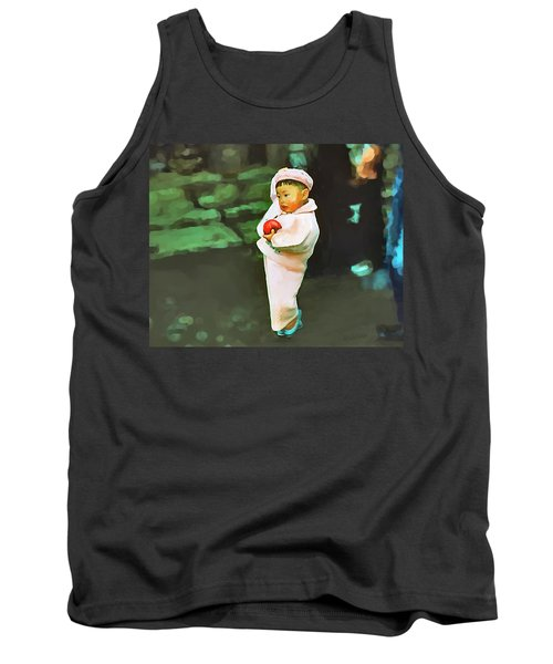 Tank Top featuring the photograph Korean Pink by Dale Stillman