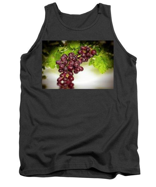 Krissy Gold Grapes Tank Top