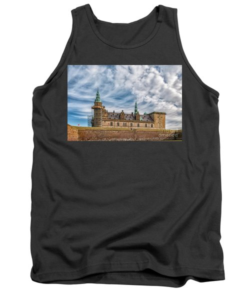 Tank Top featuring the photograph Kronborg Castle In Denmark by Antony McAulay