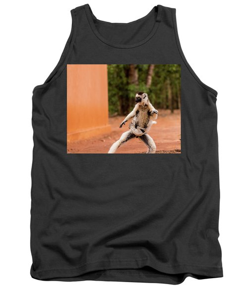 Kung Fu Mom Tank Top by Alex Lapidus