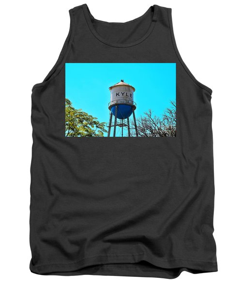 Kyle Texas Water Tower Tank Top by Ray Shrewsberry