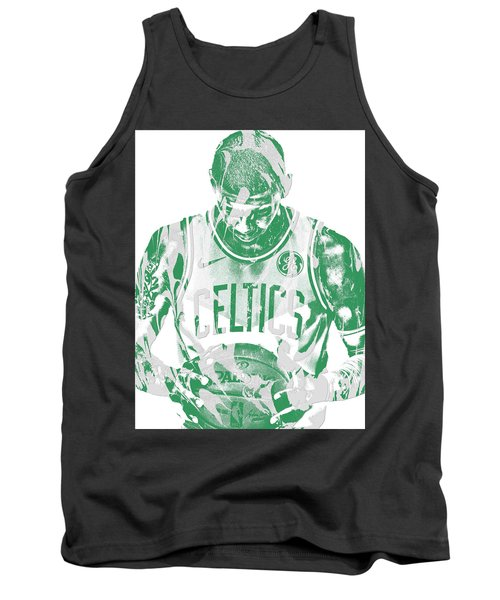 Kyrie Irving Boston Celtics Pixel Art 5 Tank Top