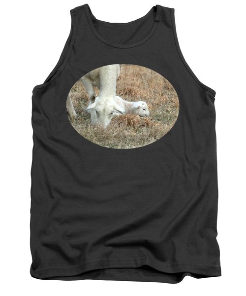 L Is For Lamb Tank Top by Anita Faye