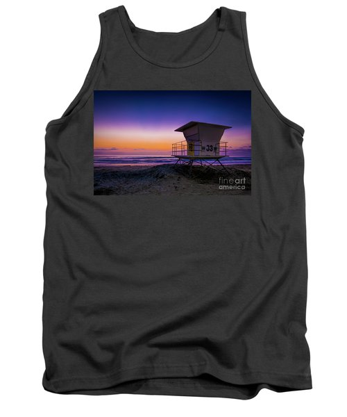 La Jolla Beach Sunset Tank Top