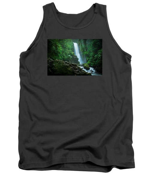Tank Top featuring the photograph La Paz Waterfall Costa Rica by RC Pics