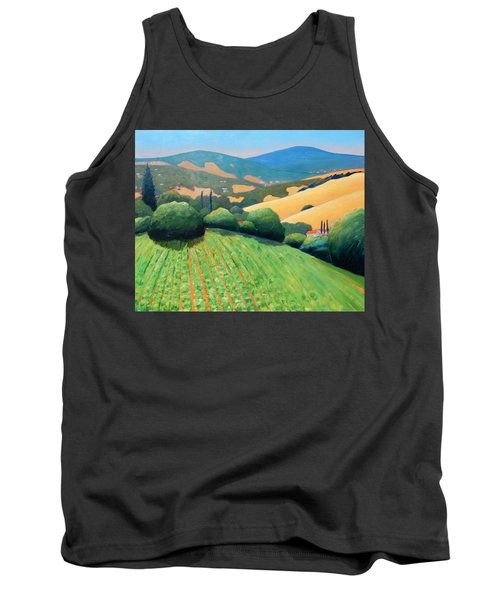 La Rusticana Revisited Tank Top by Gary Coleman