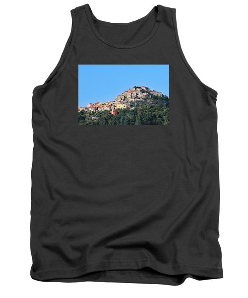 La Spezia Thru The Heart Of Tuscany To Florence Tank Top by Allan Levin