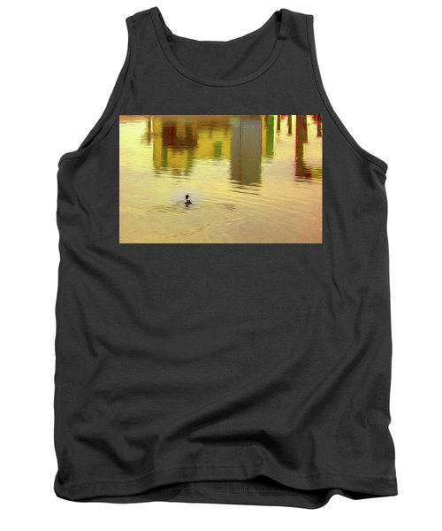 Labyrinthine #d7 Tank Top by Leif Sohlman