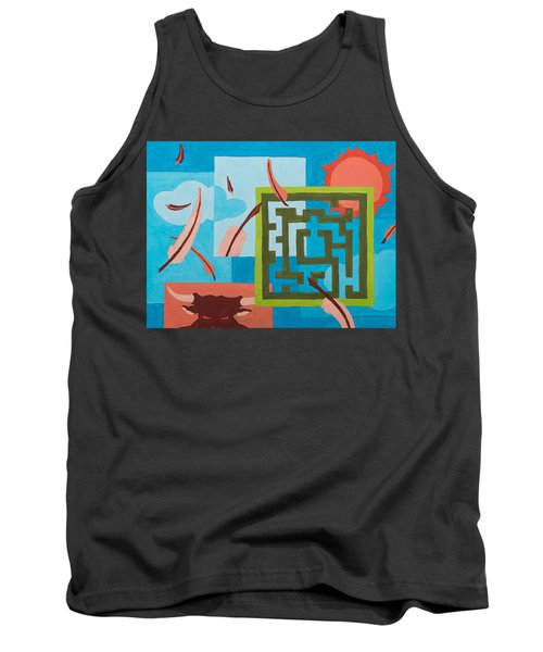 Labyrinth Day Tank Top
