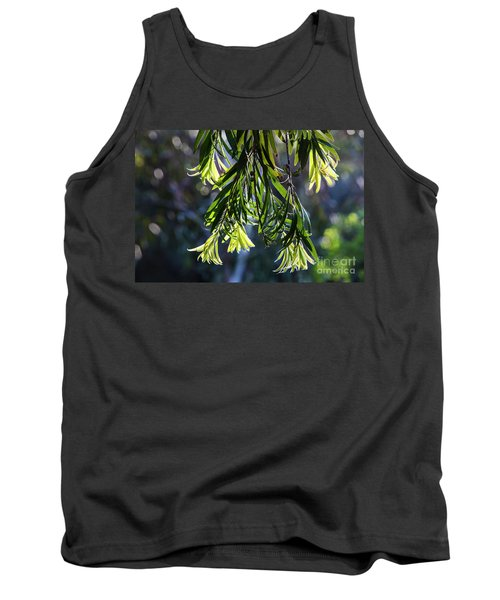 Lacey Leaves Tank Top