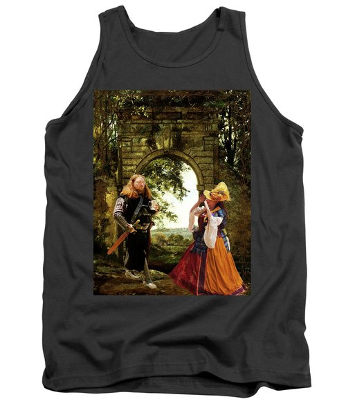 Lady At The Gate Tank Top
