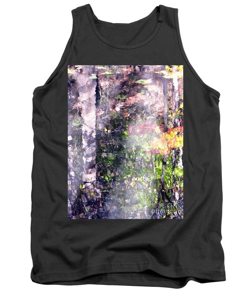 Lady On Water Tank Top by Melissa Stoudt