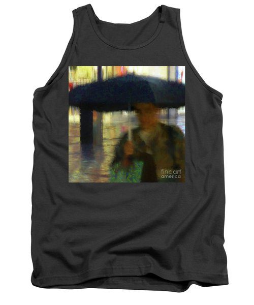 Tank Top featuring the photograph Lady With Umbrella by LemonArt Photography