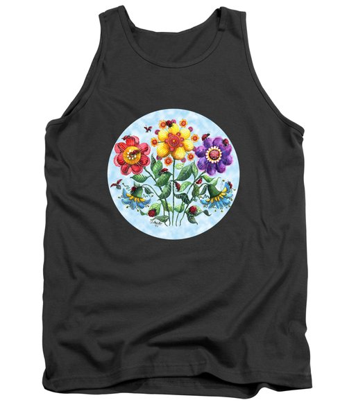 Ladybug Playground On A Summer Day Tank Top by Shelley Wallace Ylst