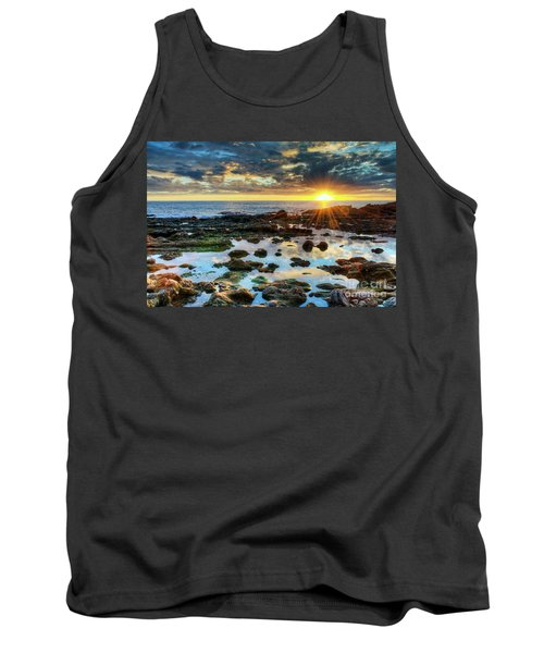 Laguna Beach Tidepools Tank Top by Eddie Yerkish