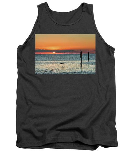 Laguna Vista Sunset Tank Top