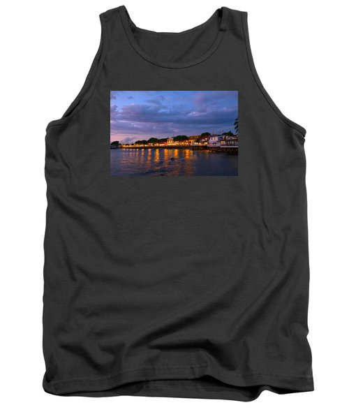 Lahaina Roadstead Tank Top by James Roemmling