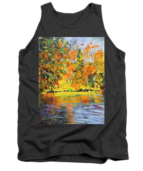 Lake Aerofloat Fall Foliage Tank Top