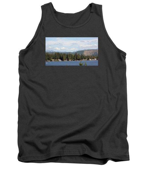 Lake And Mountains Tank Top