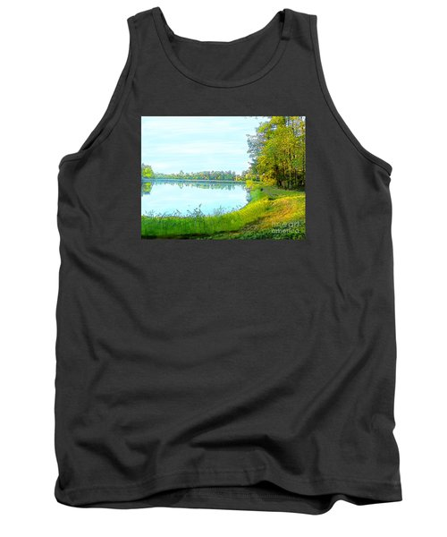 Lake And Woods Tank Top by Craig Walters