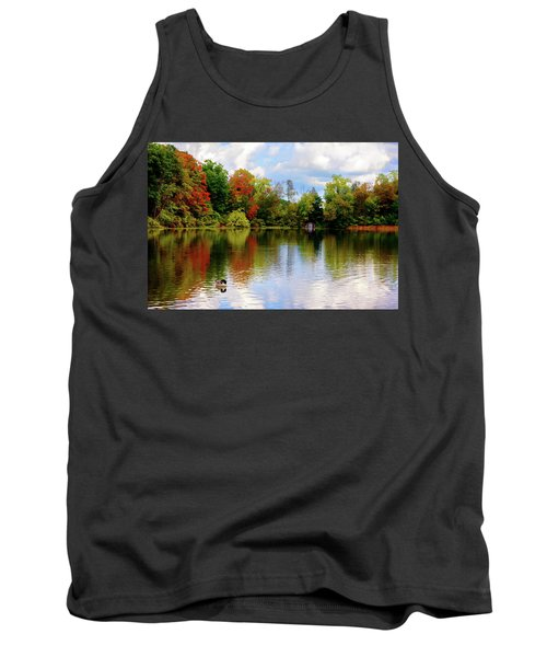 Lake At Forest Park Tank Top
