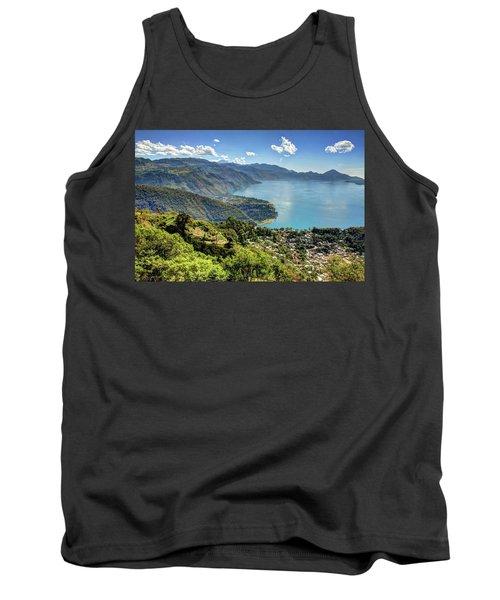 Lake Atitlan Tank Top by John Loreaux