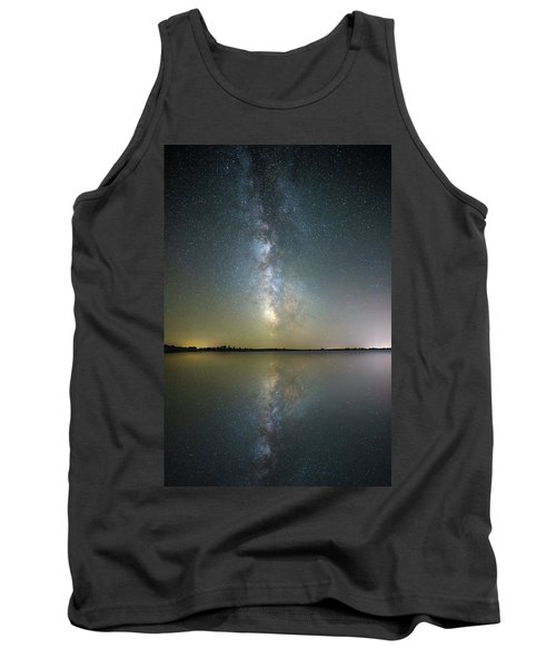 Tank Top featuring the photograph Lake Cavour by Aaron J Groen