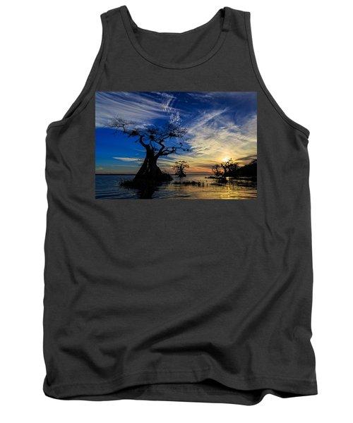 Lake Disston Sunset Tank Top